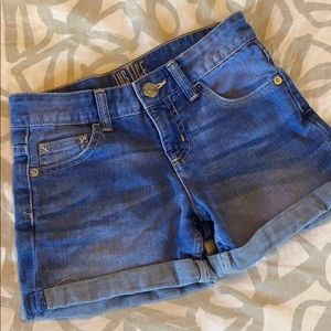 Justice Light Jean Shorts